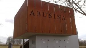 Abusina: von hier aus hat man einen guten Blick