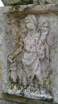 Abusina: Römische Abbildung auf einer Stele